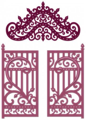 Click to Enlarge: Ornate Gateway Die