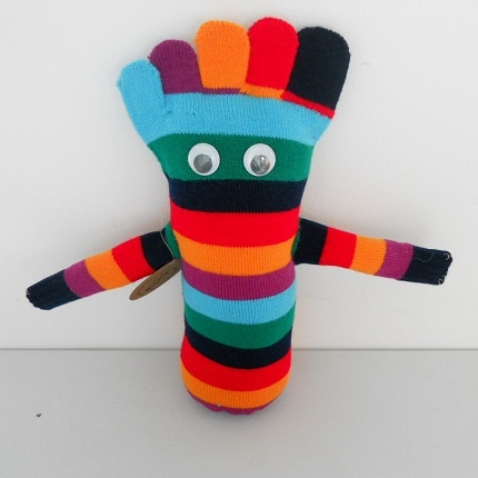 Tienda online monstruo de peluche mu ecos con calcetines for Munecos con calcetines