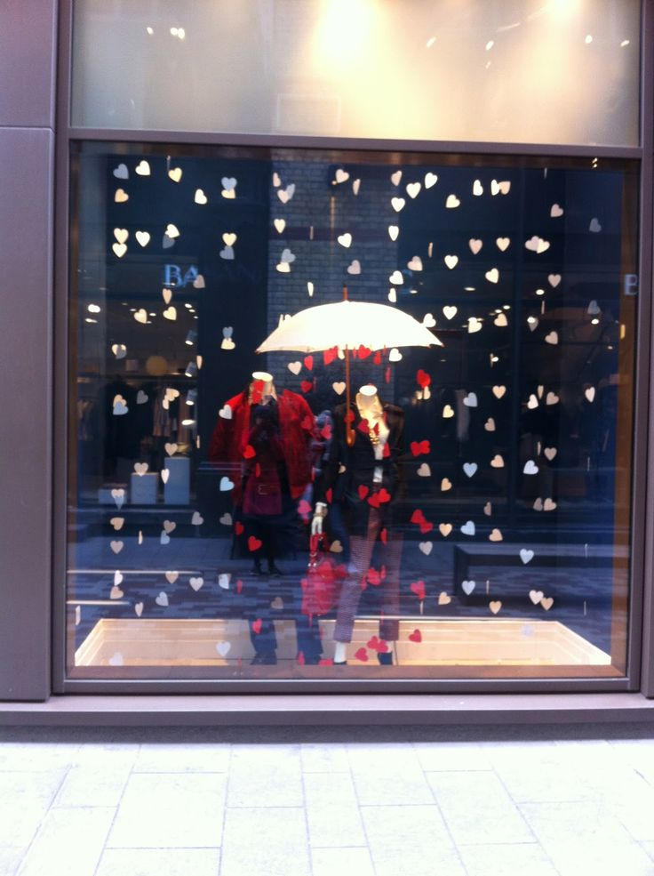 banana republic valentines display - Google Search