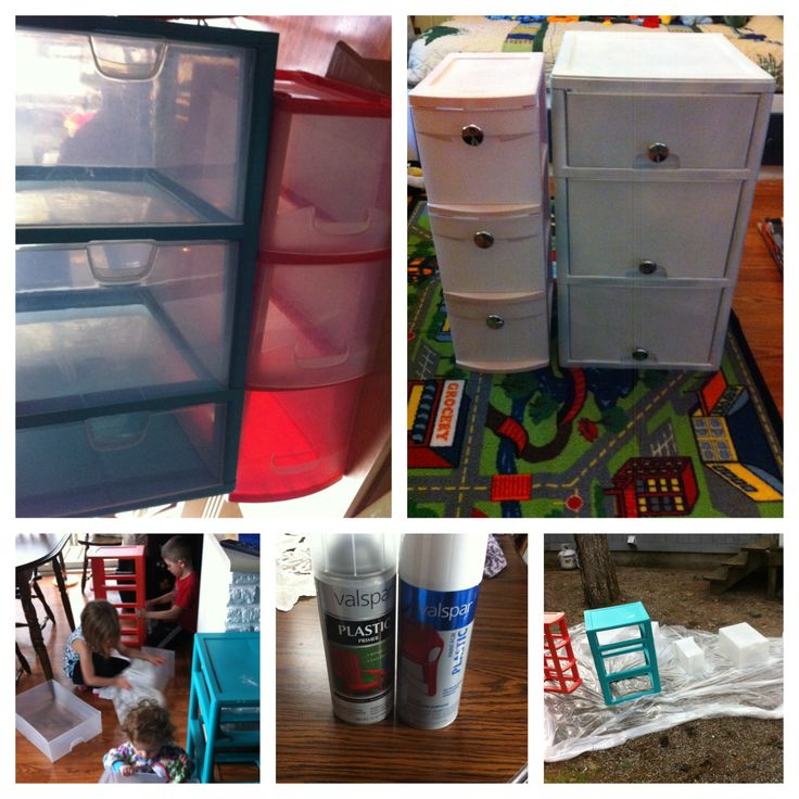 17 best ideas about stainless steel spray paint on for Painting plastic bins
