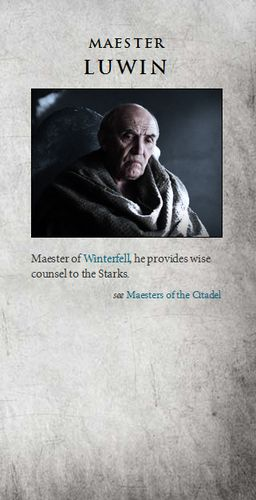 Game of Thrones images Maester Luwin wallpaper and background photos