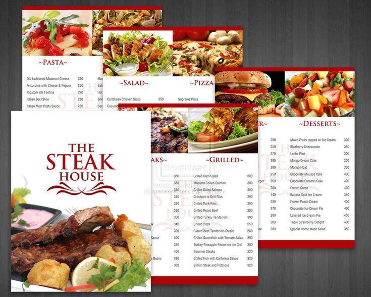 The 25+ best Steak house menu ideas on Pinterest | Steakhouse ...