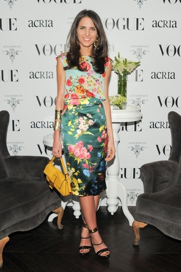 Kelly Talamas at Vogue Mexicos cocktail party in honor of ACRIA. April, 2013.
