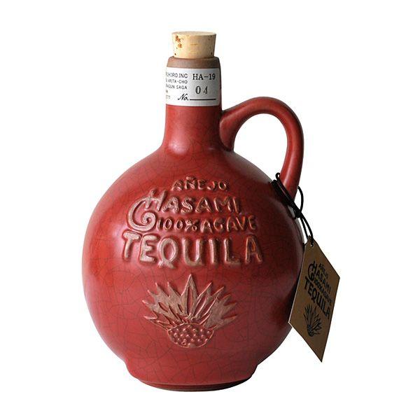 波佐見焼きのテキーラ・ボトル Tequila bottle