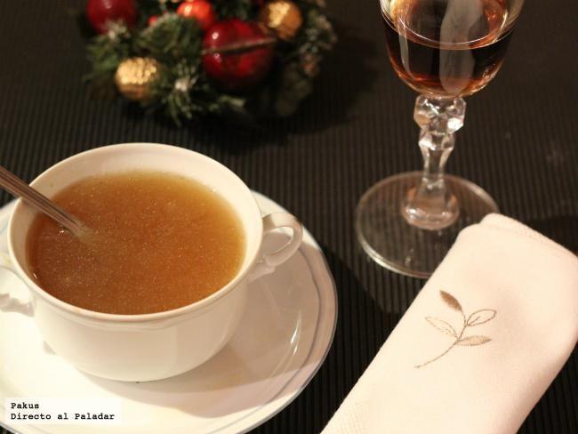 Recetas de consomés de Navidad   Cantabria   Spain