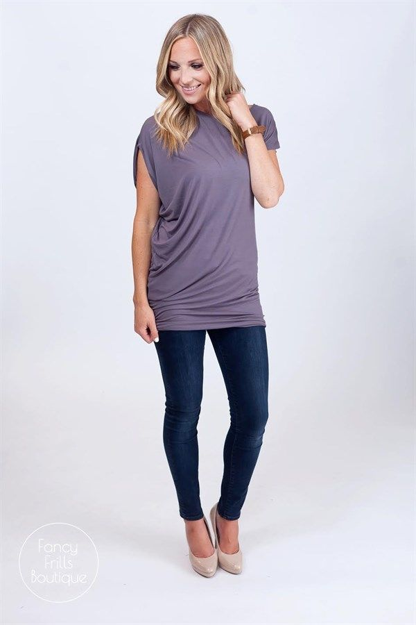The perfect length for pants AND leggings, draped summer tunics are here!