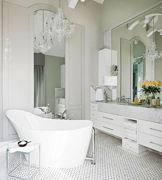 Modern French Bathroom: 111 Best FRENCH FARMHOUSE BATHROOM IDEAS Images On