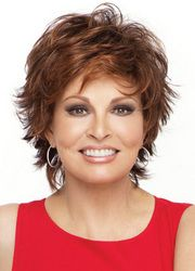 Yes I admit it....I wear wigs when I am in a hurry and don't have time to fix my hair or on rainy days!  I love Raquel Welch wigs!  I have all colors - FUN!!!