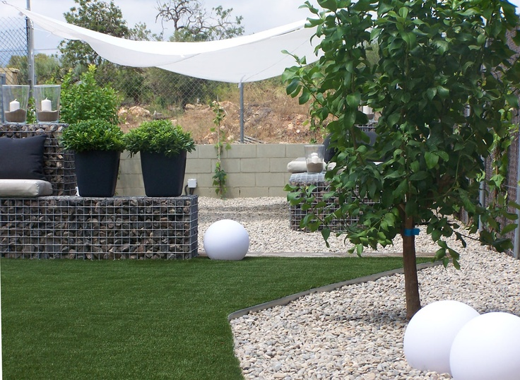 Gabion garden stone wall gabion for Gabion landscaping