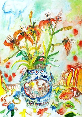 "John Bellany on our blog ""Flowers that never wilt"""