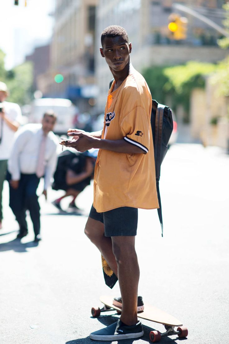 "damplaundry: "" Adonis Bosso at NYFW S/S 2015 by YoungJun Koo """