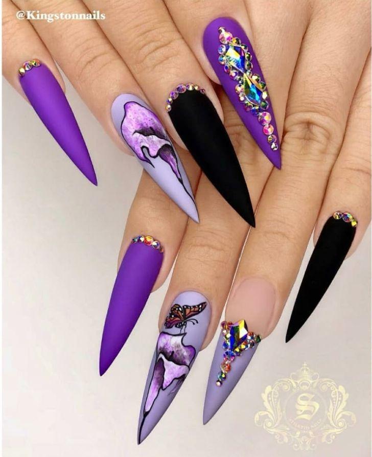 52 Trendy Acryl Stiletto Nails Design-Ideen für Sie – Seite 50 von 52 – Nails design