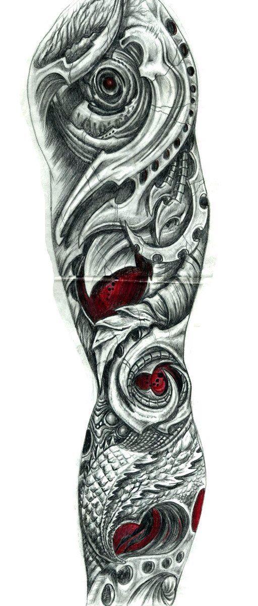 52 besten bio mechanische tattoos bilder auf pinterest. Black Bedroom Furniture Sets. Home Design Ideas