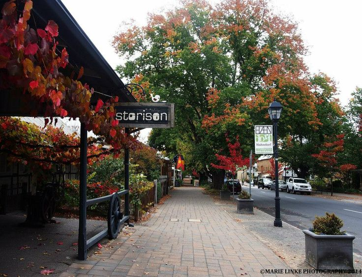Autumn in Hahndorf, in the Adelaide Hills  By: Marie Linke Photography