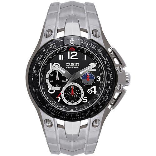 Relógio Masculino Orient Analogico Esportivo Flytech Titanium MBTTC002 P2GX