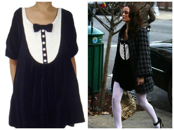 Blair Waldorf Dress:  Catherine Holstein Tuxedo Dress