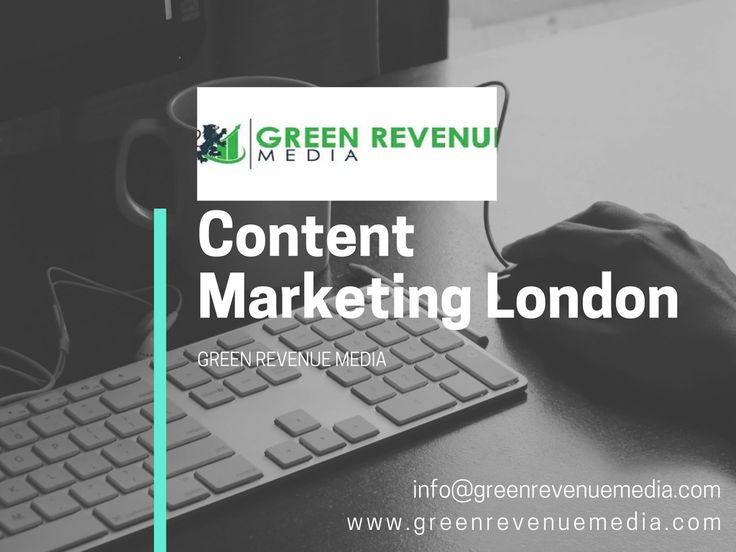 Content marketing is nothing more than providing the right information to the right audience at the right time. Green Revenue Media curate attention grabbing content. We highlight and encourage imagination in all we do to deliver content that becomes memorable and can't be ignored.
