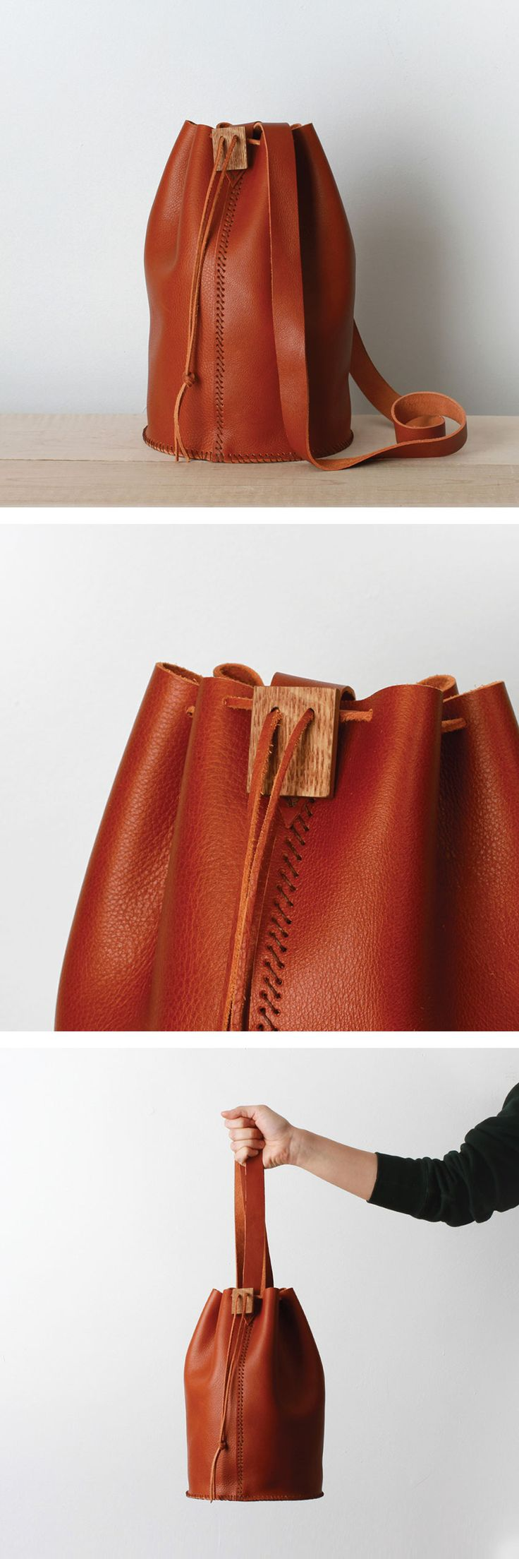 Scarr // Handmade & Hand-sewn Leather Accessories // IAMTHELAB
