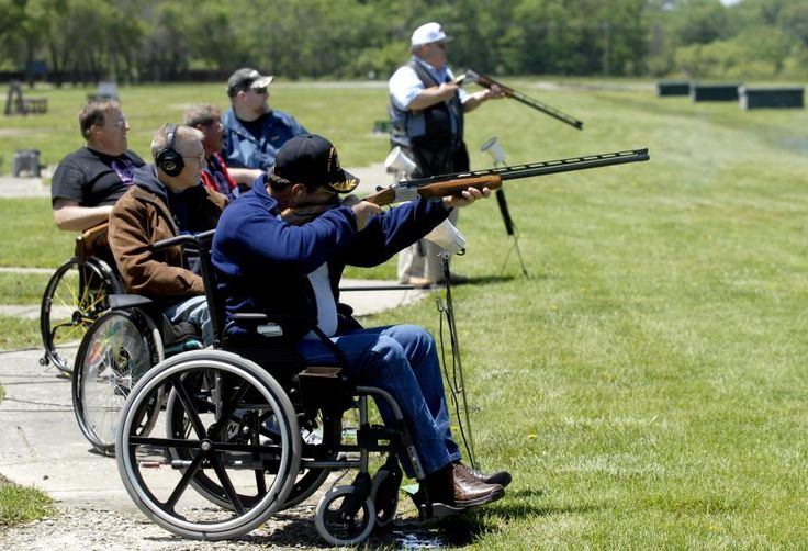 Paralyzed Veterans Trap Shooting