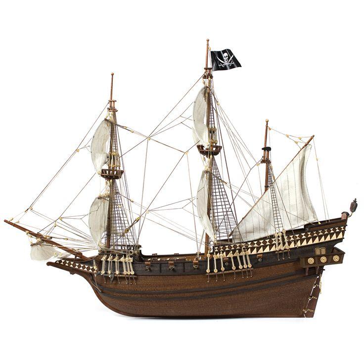 Galion Pirate scale. Le modèle Buccaneer peut-être l'un de ces navires utilisés pour leurs méfaits.