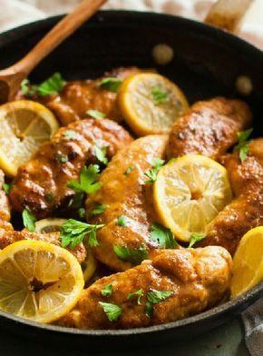 Low FODMAP and Gluten Free Recipe - Baked lemon chicken http://www.ibssano.com/low_fodmap_recipe_baked_lemon_chicken.html