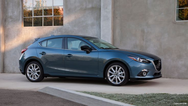 2015 Mazda 3 5D s Touring 6MT (Blue Reflex)  - Side HD