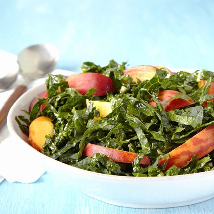 Kale & Peach Salad - Recipes - Sprouts Farmers Market ...