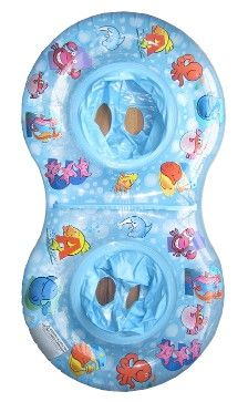 Duo Splash Twin Float... what a cool idea! $24.99