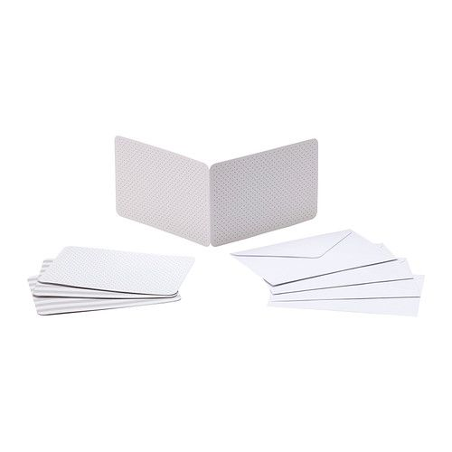 IKEA - FULLFÖLJA, Kort med konvolutt