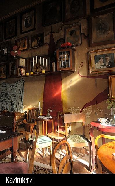 Kazimierz,     Krakow (Poland) - Jewish cafè