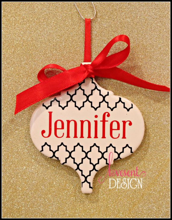 Personalized Ceramic Tile Christmas by LovesentDesign on ...