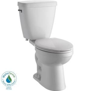 delta prelude 2piece elongated toilet in at the home