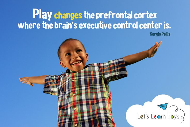 The prefrontal cortex is where the brain regulates emotions, makes plans and solves problems. Without play experience, those neurons aren't changed. Parents, do you prefer your kids to play with toys with many guidelines or those that encourage free play?  #letslearn #letslearntoys #educationaltoys #learningresources #diversity #oneworld #learningmadeeasy #earlychildhooddevelopment #parents #moms #stayathomemoms #workingmoms