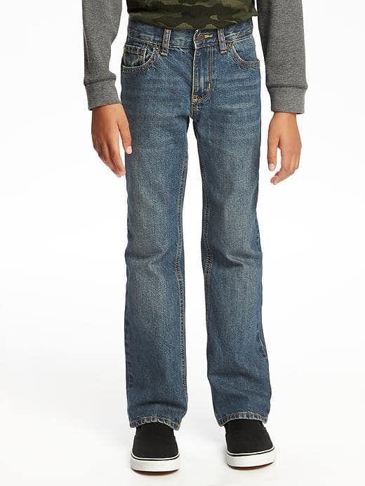 Jake wears size 8 SLIM.