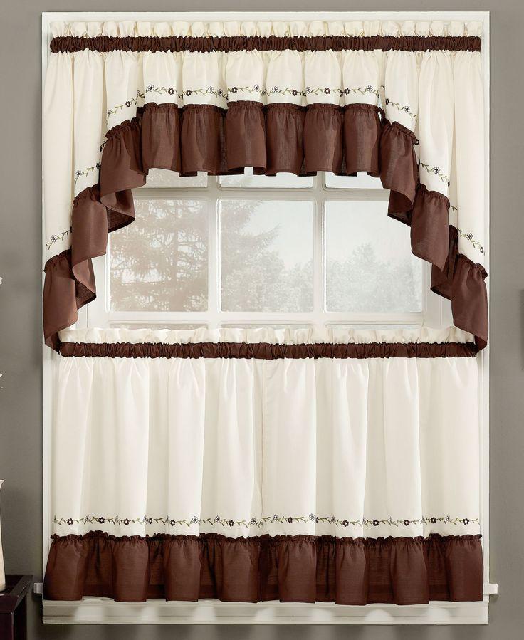 Chf jayden 60 x 30 swag valance cortinas pinterest bud products and valances - Kitchen swag valances ...