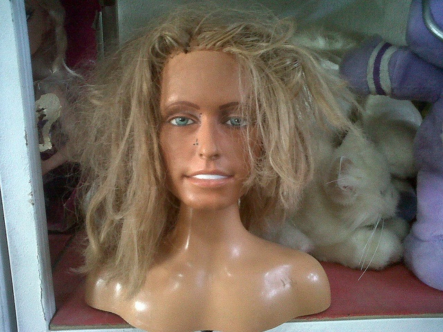 Farrah Fawcett vintage doll in a 2. hand store, photo by kenDollGTHands Stores, Ashley Plays, Farrah Fawcett, Daughters Ashley, Fawcett Vintage, 2Nd Hands, Style Head, Head Cases, Fawcett Style