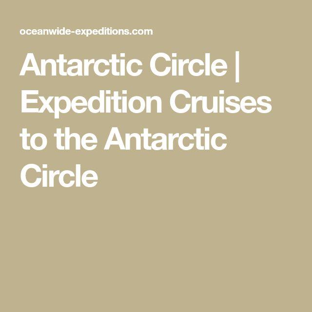 Antarctic Circle | Expedition Cruises to the Antarctic Circle