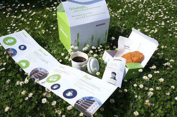 Skanska Direct Mail by lamrgraphic.com, via Behance