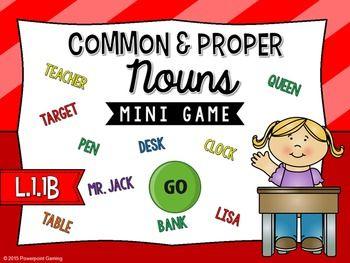 common and proper nouns and capitalizat Nouns 5-6 plural forms 7-8 common and proper nouns 9.