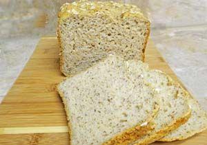 Image: Gluten Free Oat Bread Sliced