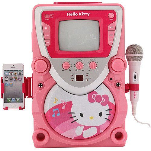 Hello Kitty 68109 Super Karaoke with Cam  - Click image twice for more info - See a larger selection of hello kitty at http://zkidstoys.com/product-category/hello-kitty/ - kids,toddler,child,children,kids toys, kids gift ideas, little girls gift ideas, baby girl gift ideas,christmas, holidays