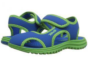Teva Kids Tidepool CT (Toddler) (Blue/Green) Kids Shoes