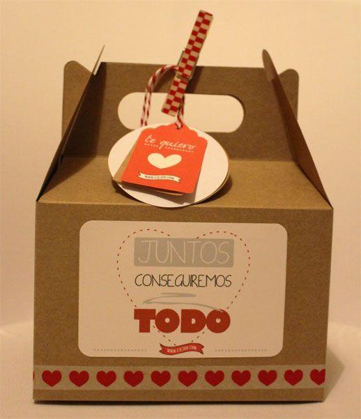 Envoltorios de regalos originales para San Valentín