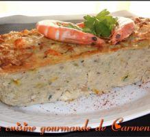 Recette - Terrine de lotte aux crevettes - Notée 4.1/5 par les internautes