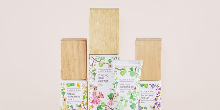Mama & Boo — The Dieline - Branding & Packaging