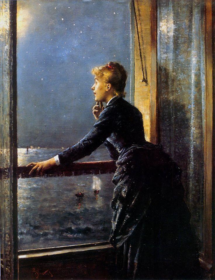 Alfred Stevens (Belgian, 1823-1906), The Milky Way, c1885-86.: