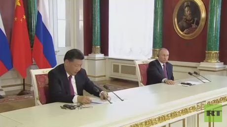 "Putin, Xi agree on need to freeze N. Korean nuclear program & US, S. Korean military drills https://tmbw.news/putin-xi-agree-on-need-to-freeze-n-korean-nuclear-program-us-s-korean-military-drills  Published time: 4 Jul, 2017 13:18Edited time: 4 Jul, 2017 13:37Moscow and Beijing have agreed that North Korea should freeze its nuclear and missile programs, while the US and South Korea should abstain from holding war games in the region, Russian President Vladimir Putin said.""We've agreed to…"