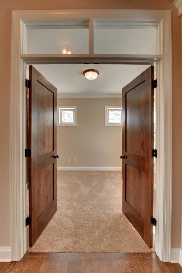 how to clean stained wood doors
