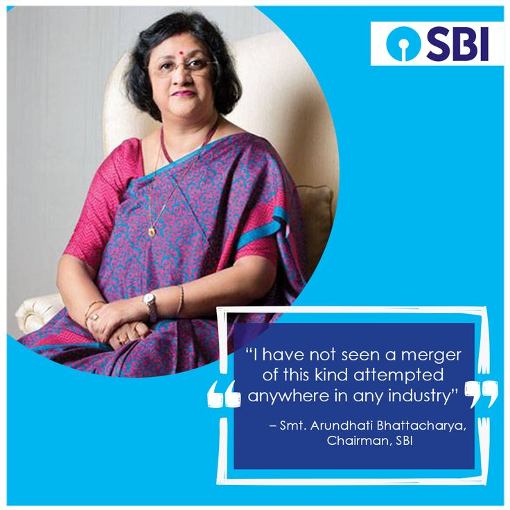 In a career that spans decades, the merger sure is one of the highlights of Smt. Arundhati Bhattacharya's career at SBI.  #NewWaveInBanking #StateBankOfIndia #StateBank #SBI #NewBeginnings #Milestone #BankingRevolution