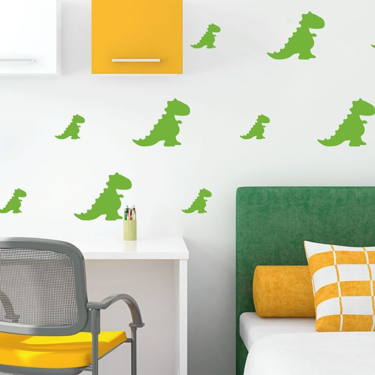 Wall sticker set Dinosaurs